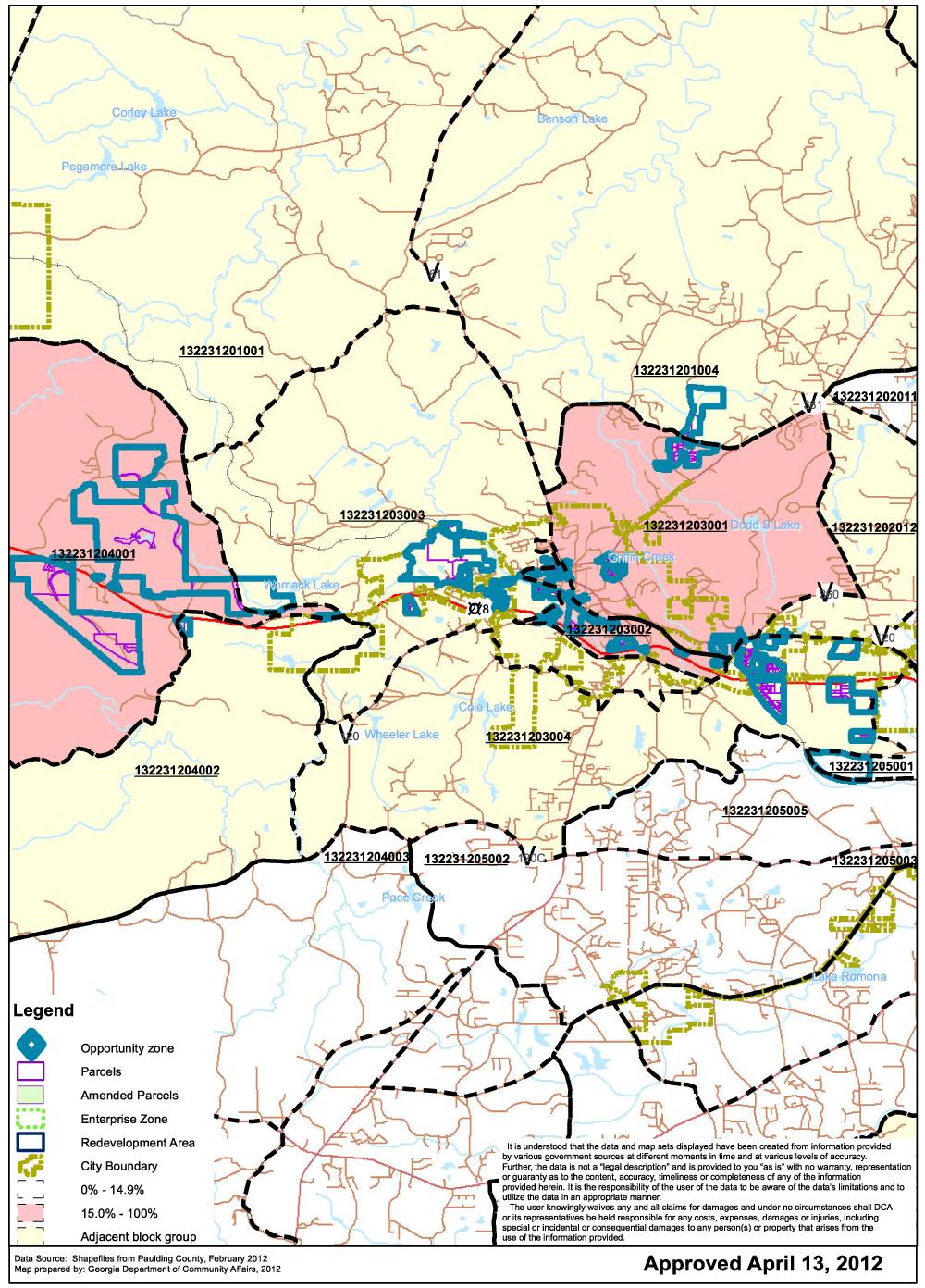 Paulding County Economic Development - Opportunity Zones