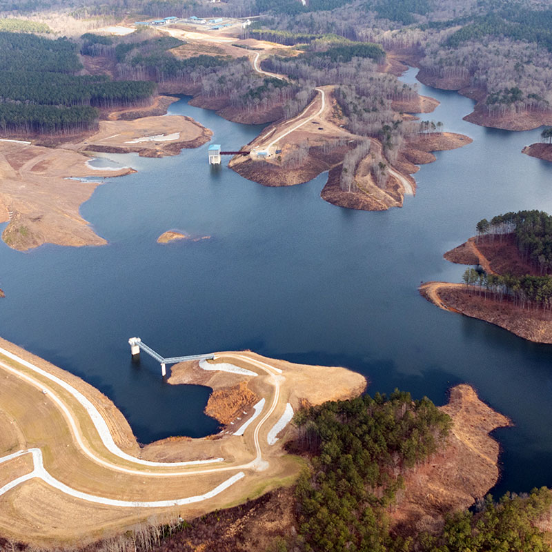 Paulding County Economic Development New Developments Richland Creek Reservoir - Paulding County Economic Development