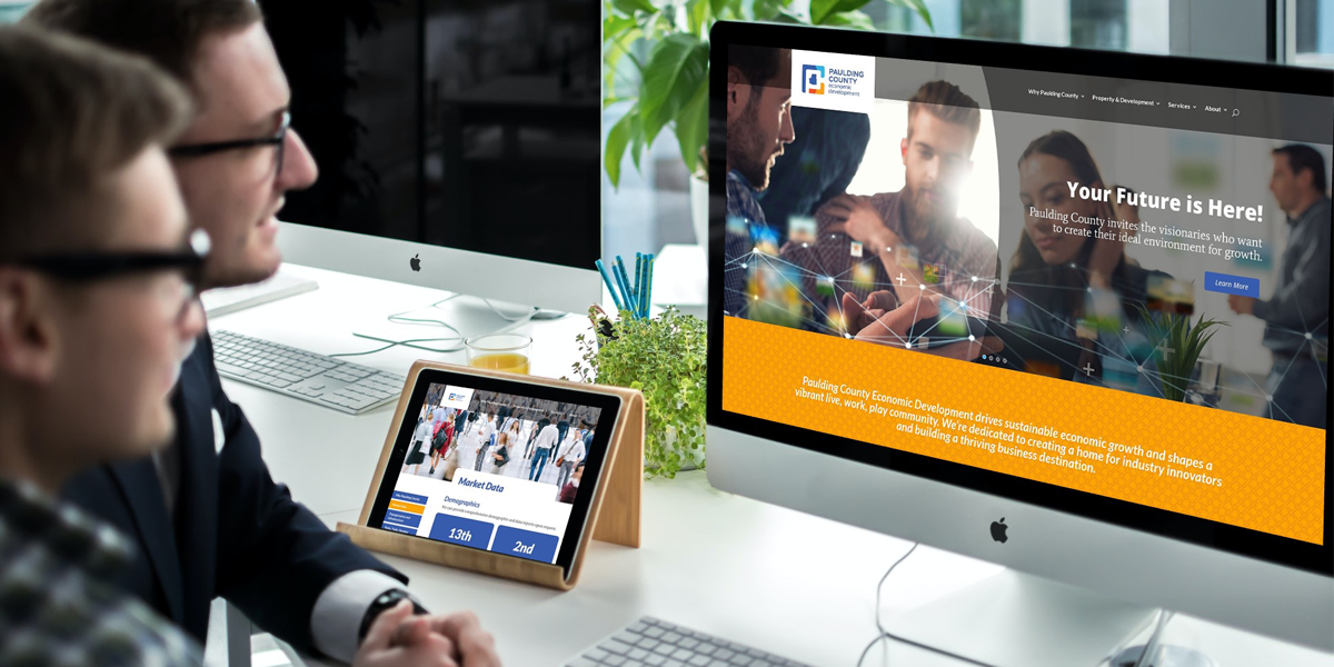 Paulding County Economic Development_News - New Website