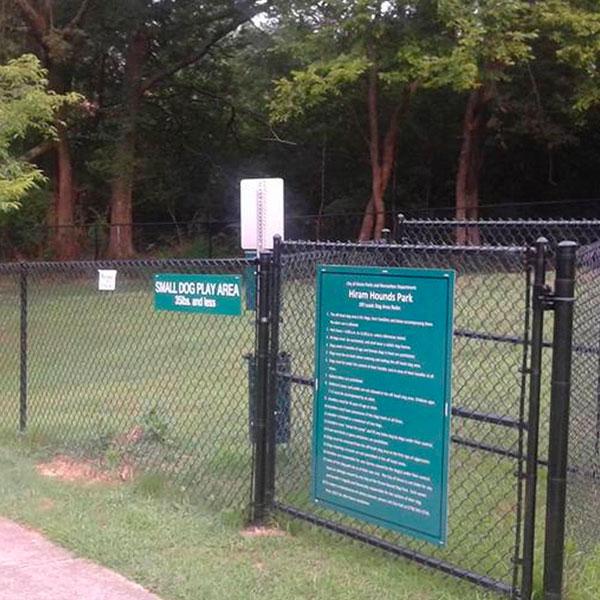 Paulding County Economic Development Parks Hiram Hounds Dog Park - Paulding County Economic Development