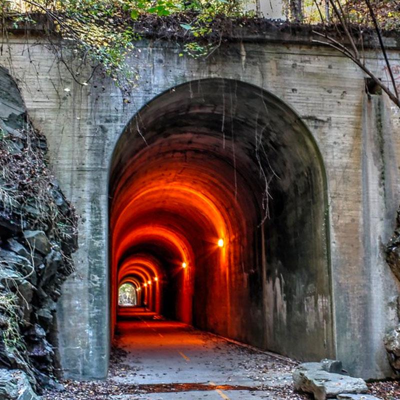 Paulding County Economic Development Silver Comet Brushy Mountain Tunnel - Paulding County Economic Development